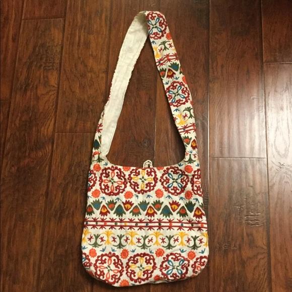 limited edition Handbags - Linen Embroidered Bag